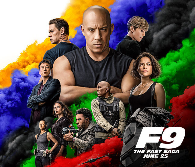 F9 | The Fast Saga. In Theaters June 25, 2021.